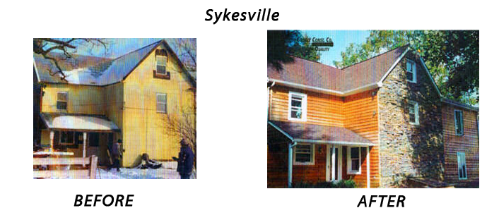 Roof Siding Replacement Sykesville MD